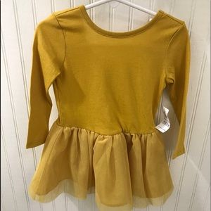 NWT 18 - 24 Months Girls Yellow Dress Old Navy